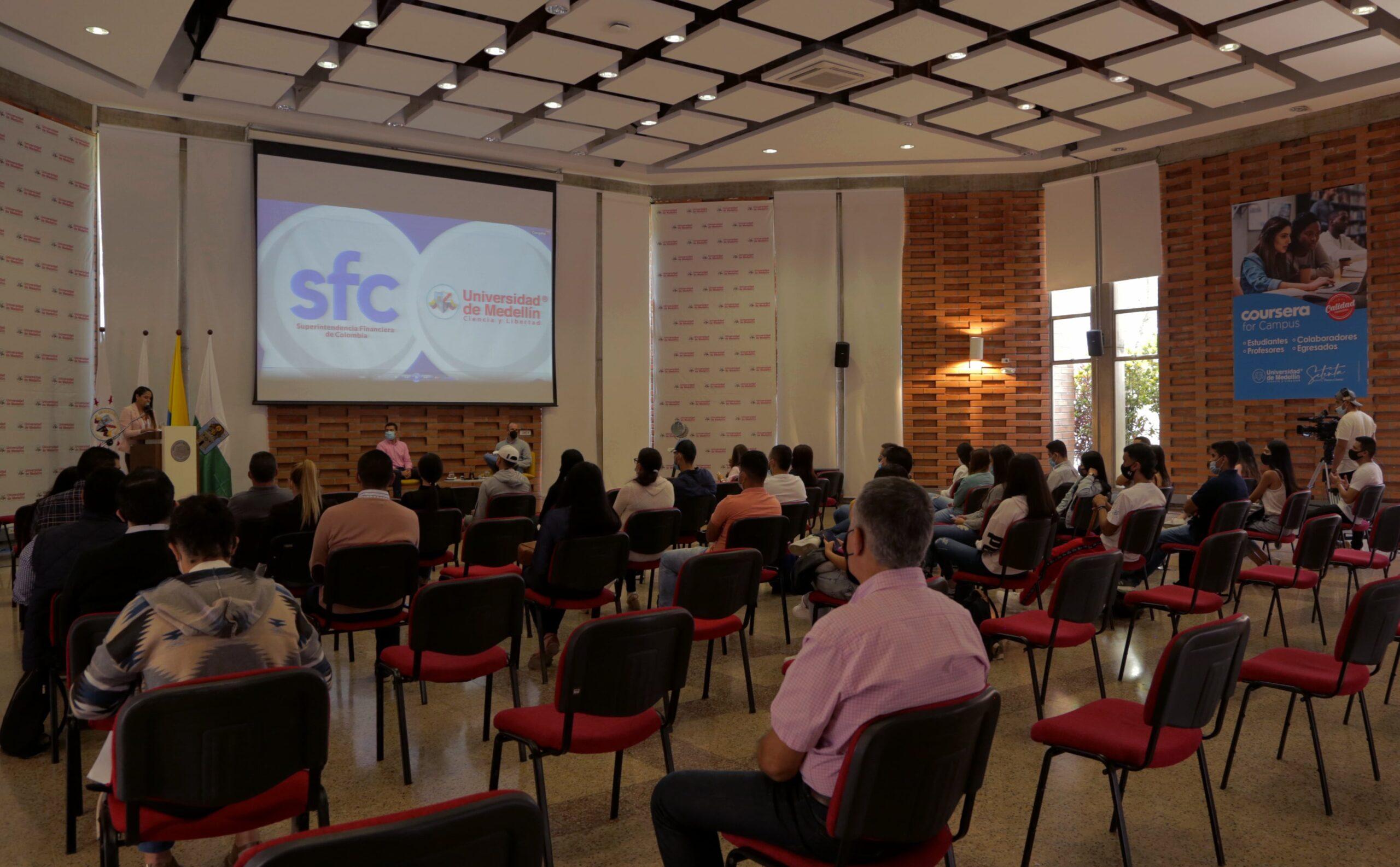 Conversatorio Universidad de Medellín – Superintendencia Financiera de Colombia